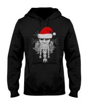 Santa - Odin - Viking Shirt Hooded Sweatshirt thumbnail