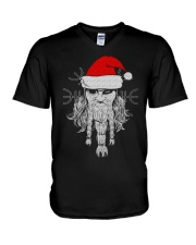 Santa - Odin - Viking Shirt V-Neck T-Shirt tile