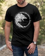 VIKING WOLVES  - VIKING T-SHIRTS Classic T-Shirt apparel-classic-tshirt-lifestyle-front-53