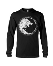 VIKING WOLVES  - VIKING T-SHIRTS Long Sleeve Tee thumbnail