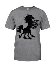 Sleipnir is an eight-legged horse ridden by Odin Classic T-Shirt front