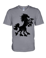Sleipnir is an eight-legged horse ridden by Odin V-Neck T-Shirt thumbnail