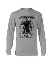 IT WILL NEVER SAY ''I GAVE UP''  - VIKING T-SHIRTS Long Sleeve Tee thumbnail