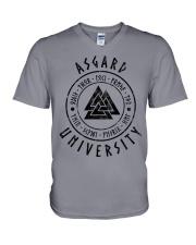 Asgard University - Viking Shirt V-Neck T-Shirt thumbnail