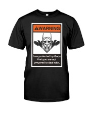 Viking Shirt - Viking Warning Classic T-Shirt front