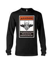Viking Shirt - Viking Warning Long Sleeve Tee thumbnail