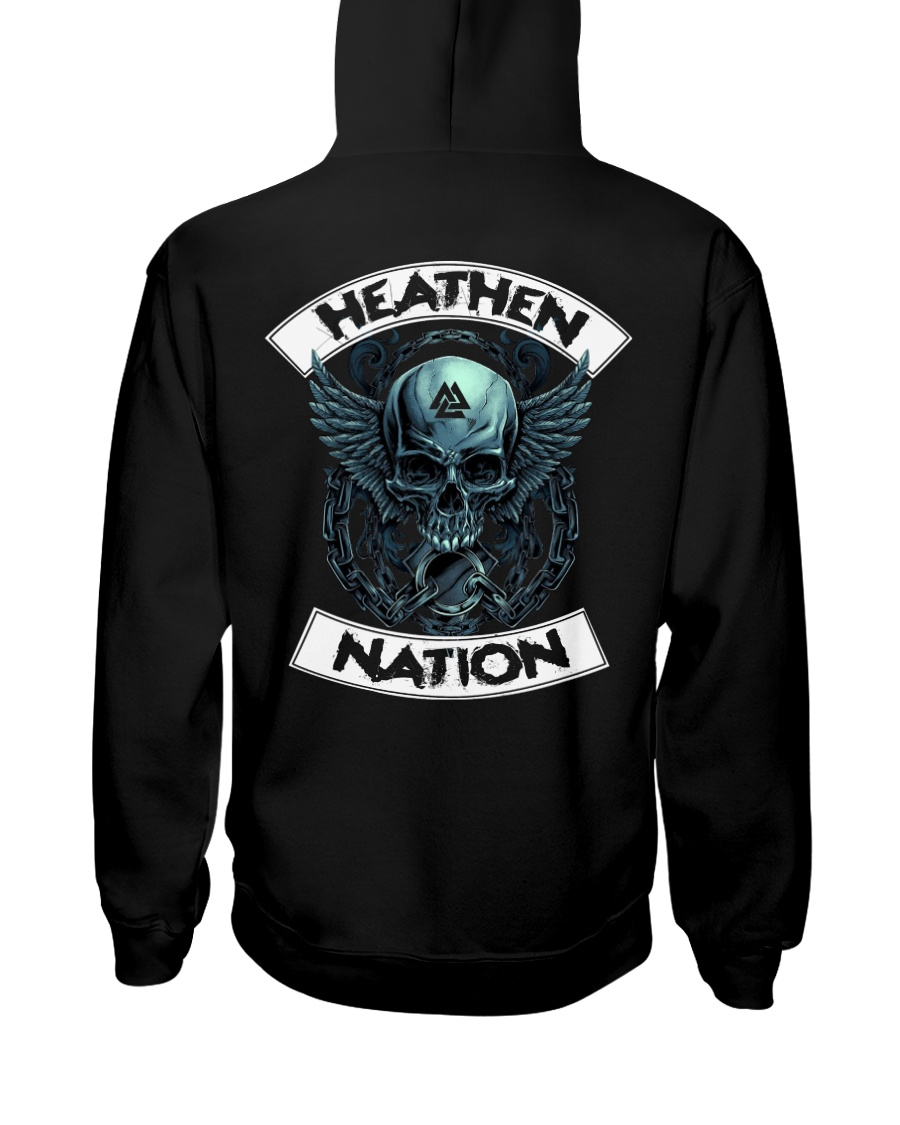 HEATHEN NATION - VIKING T-SHIRTS Hooded Sweatshirt