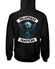 HEATHEN NATION - VIKING T-SHIRTS Hooded Sweatshirt back