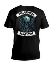 HEATHEN NATION - VIKING T-SHIRTS V-Neck T-Shirt thumbnail