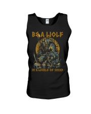 BE A WOLF IN A WORLD OF SHEEP - VIKING T-SHIRTS Unisex Tank thumbnail