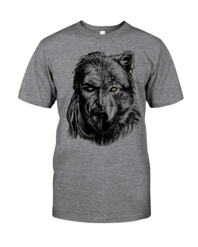 Wolf Viking Warrior  - Viking Shirt
