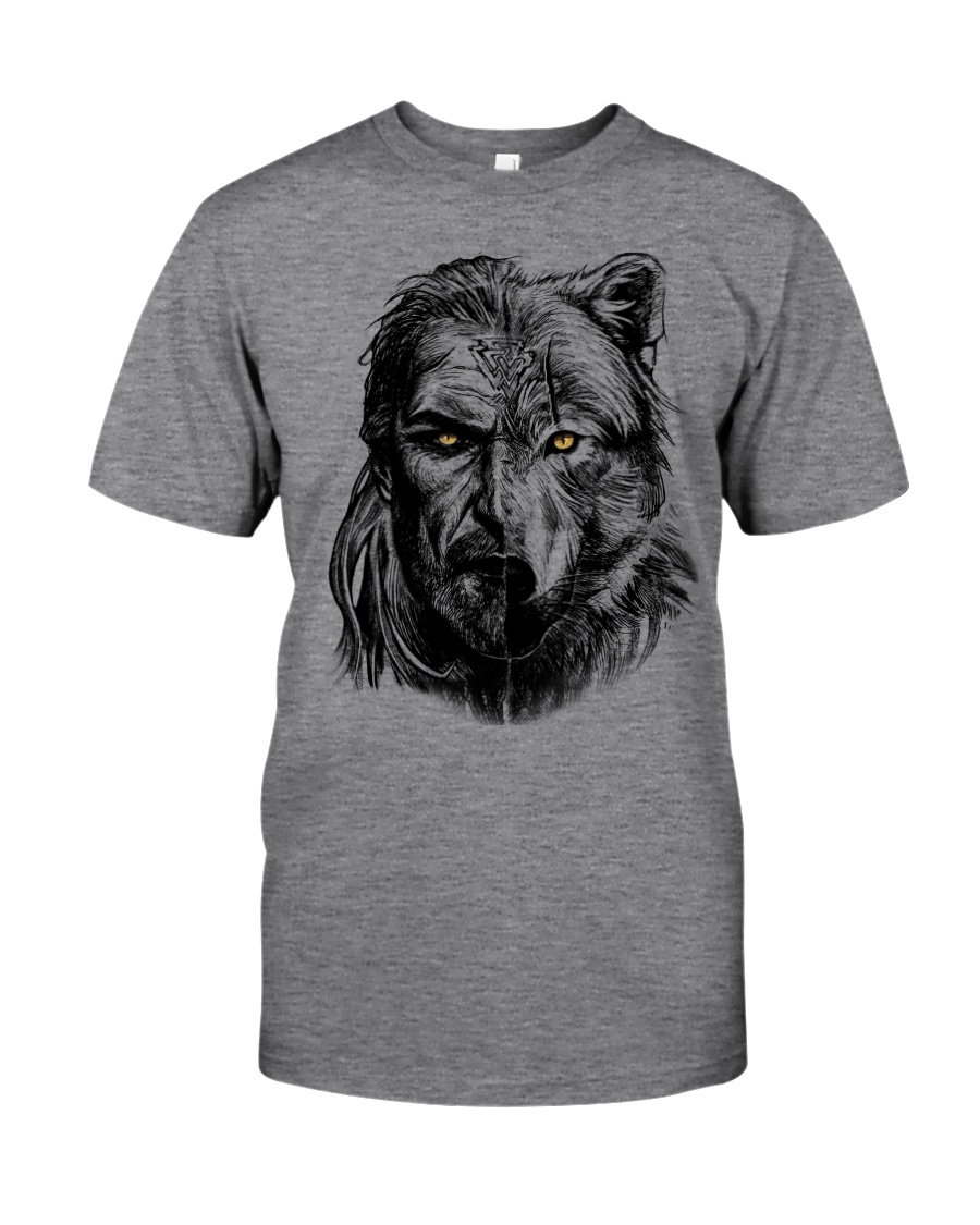 Wolf Viking Warrior  - Viking Shirt Classic T-Shirt