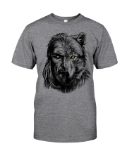 Wolf Viking Warrior  - Viking Shirt Classic T-Shirt front