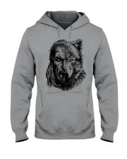 Wolf Viking Warrior  - Viking Shirt Hooded Sweatshirt thumbnail