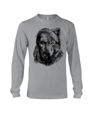 Wolf Viking Warrior  - Viking Shirt Long Sleeve Tee thumbnail