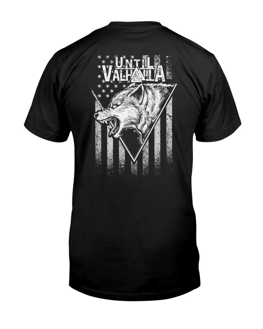 Viking Shirt - Until Valhalla Fenrir Wolf Classic T-Shirt