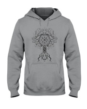 Viking Shirt - Yggdrasil Viking Hooded Sweatshirt thumbnail