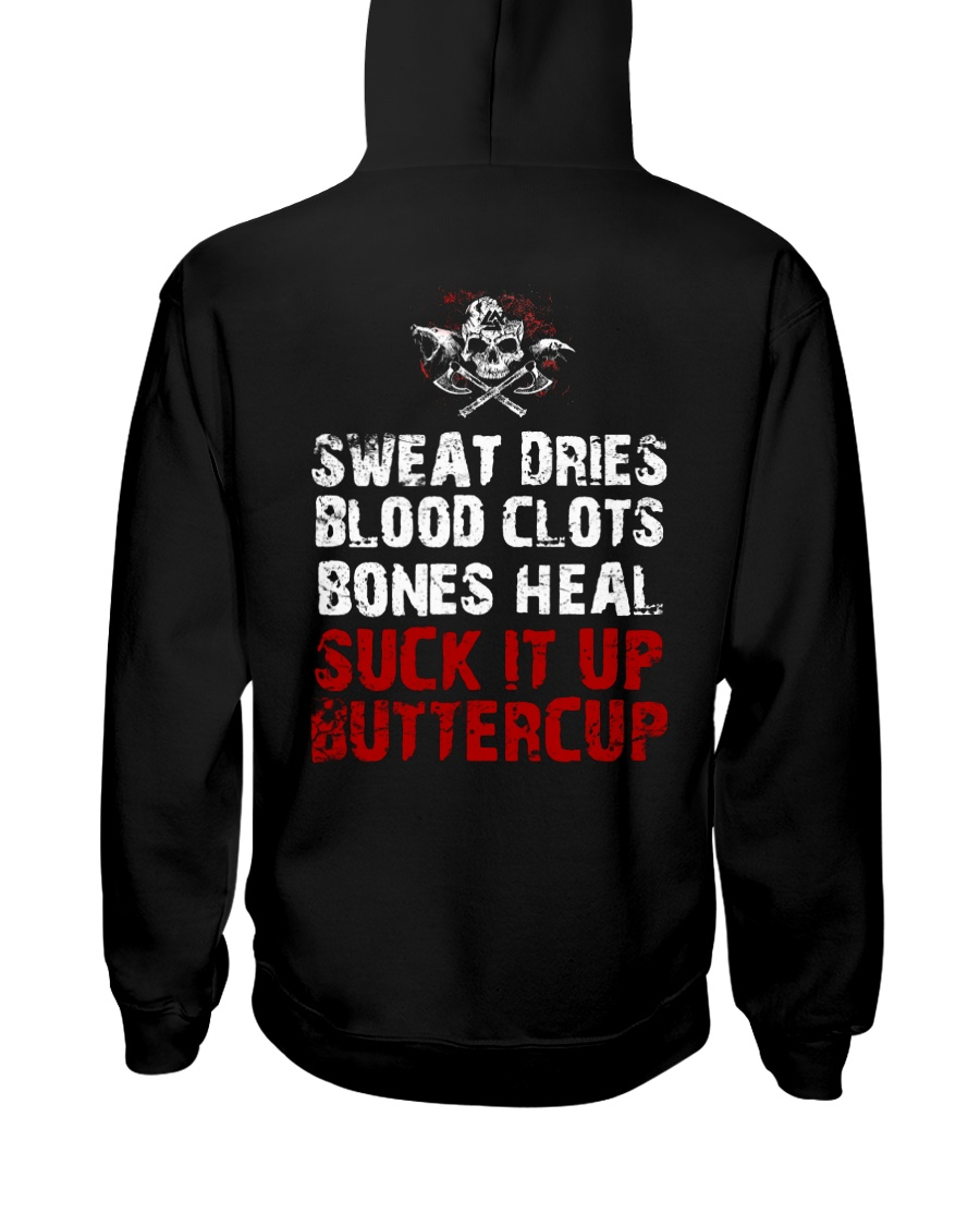 Suck It Up Buttercup - Viking Shirt Hooded Sweatshirt