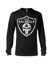 Viking Shirt - Till Valhalla Shield Long Sleeve Tee tile