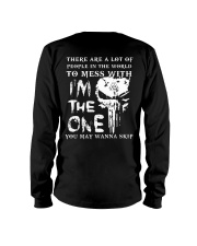 I'm The One You May Wanna Skip - Viking Shirt Long Sleeve Tee thumbnail