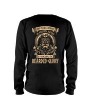 Viking Shirt - A Viking In Bearded Glory Long Sleeve Tee thumbnail
