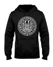 Claws Wolf And Rune Viking - Viking Shirt Hooded Sweatshirt thumbnail