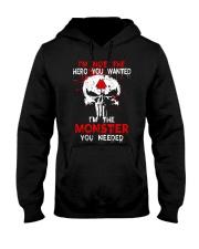 Viking Shirt - I'm The Monster You Needed Hooded Sweatshirt thumbnail