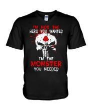 Viking Shirt - I'm The Monster You Needed V-Neck T-Shirt thumbnail