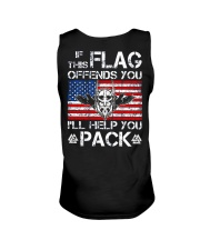 IF THIS FLAG OFFENDS YOU - VIKING T-SHIRTS Unisex Tank thumbnail