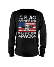 IF THIS FLAG OFFENDS YOU - VIKING T-SHIRTS Long Sleeve Tee thumbnail