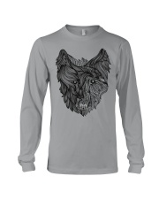 Viking Shirt - Raven And Wolf Of Odin Long Sleeve Tee thumbnail