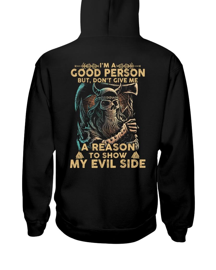 Viking Shirt - I Am Good Person Hooded Sweatshirt