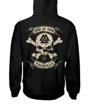 Sons Of Odin - Valhalla - Viking Shirt - Vegvisir Hooded Sweatshirt thumbnail