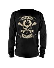 Sons Of Odin - Valhalla - Viking Shirt - Vegvisir Long Sleeve Tee thumbnail