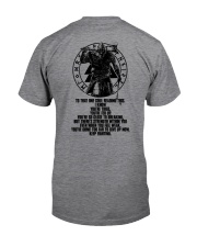 Viking Shirt - Yggdrasil Viking Classic T-Shirt back