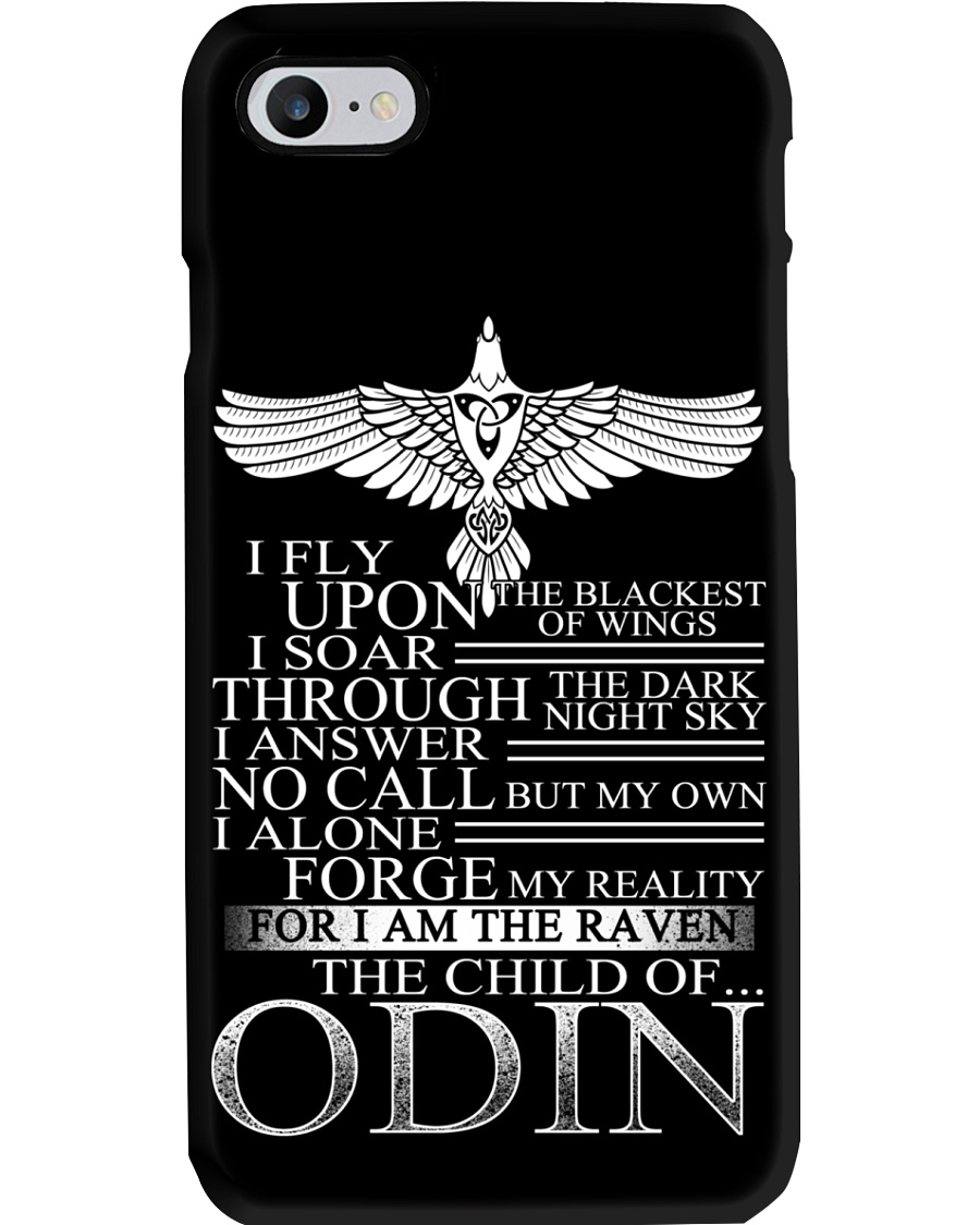 Viking Phone Case : Raven - The Child Of Odin Phone Case