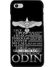 Viking Phone Case : Raven - The Child Of Odin Phone Case i-phone-8-case