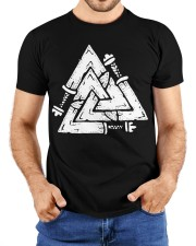Valknut - Viking Shirt Classic T-Shirt custom-t-shirts-classic-lifestyle-front-211