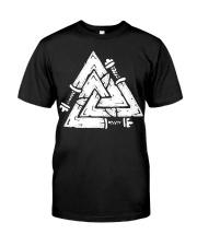 Valknut - Viking Shirt Classic T-Shirt thumbnail