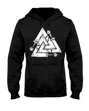 Valknut - Viking Shirt Hooded Sweatshirt front