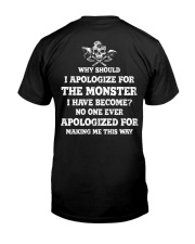 The Monster I Have Become - Viking Shirt Classic T-Shirt back