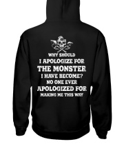 The Monster I Have Become - Viking Shirt Hooded Sweatshirt thumbnail