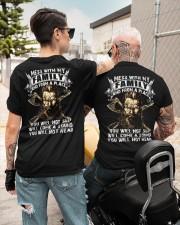Mess With My Family - Viking Shirt Classic T-Shirt custom-t-shirts-classic-lifestyle-back-299