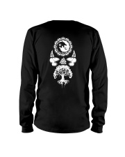 Viking Shirt : Wolf Raven Yggdrasil Long Sleeve Tee thumbnail