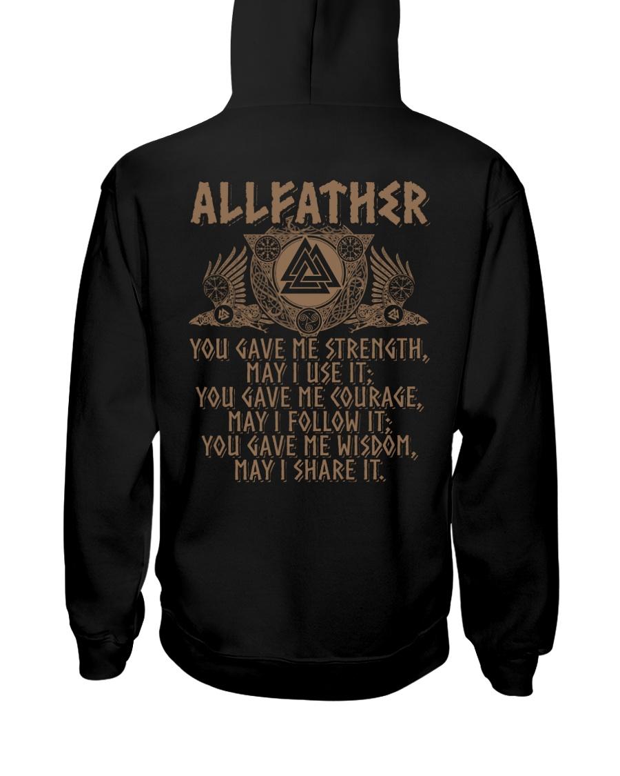 Allfather Viking - Viking Shirt Hooded Sweatshirt