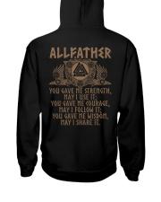 Allfather Viking - Viking Shirt Hooded Sweatshirt back