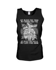 Viking Shirt : My Life For Odin Unisex Tank thumbnail