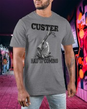 Viking T-shirt - Custer Had It Coming Classic T-Shirt apparel-classic-tshirt-lifestyle-front-99a