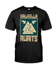 Viking Wolf - Valhalla Awaits Classic T-Shirt tile