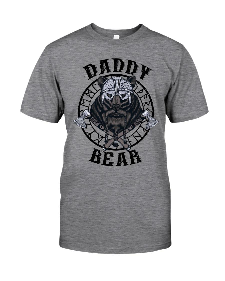 Viking Shirt : Daddy Bear Viking Classic T-Shirt